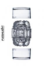 Masturbateur Fleshlight Quickshot vantage - Le nouveau plus petit masturbateur Fleshlight (en version transparente): l'enfiler c'est l'adopter!